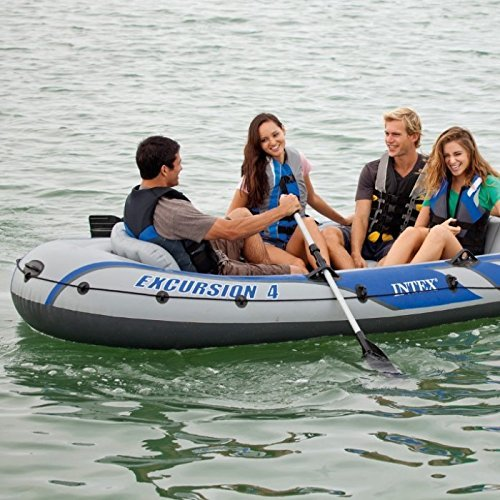 Intex: Excursion - Inflatable Boat Set (4-Seat)