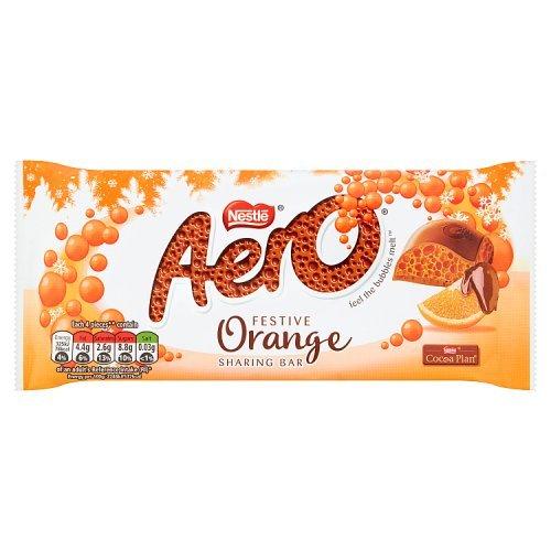 Aero Orange Festive Block 100g