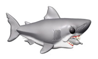 """Jaws (with Diving Tank) - 6"""" Pop! Vinyl Figure"""