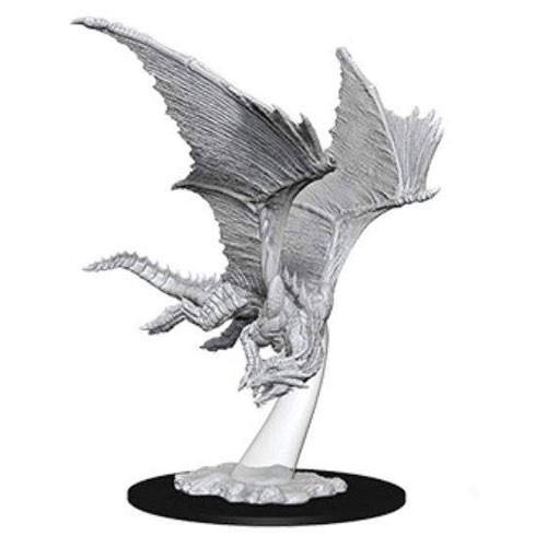 D&D Nolzur's Marvelous: Unpainted Miniatures - Young Bronze Dragon
