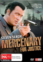 Mercenary For Justice on DVD