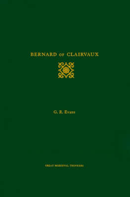 Bernard of Clairvaux by Gillian R. Evans image