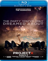 Project X on Blu-ray