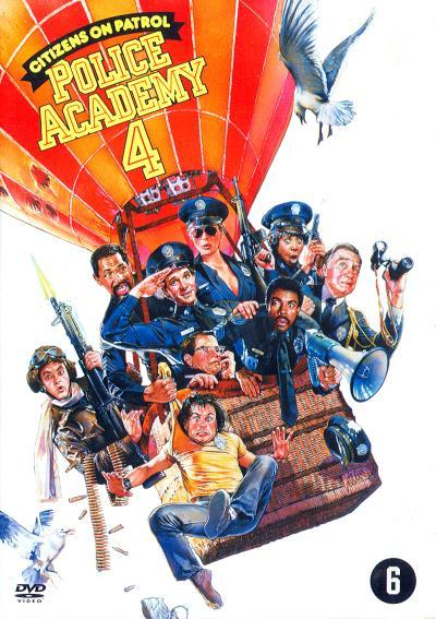 Police Academy 4 - Citizens On Patrol on DVD