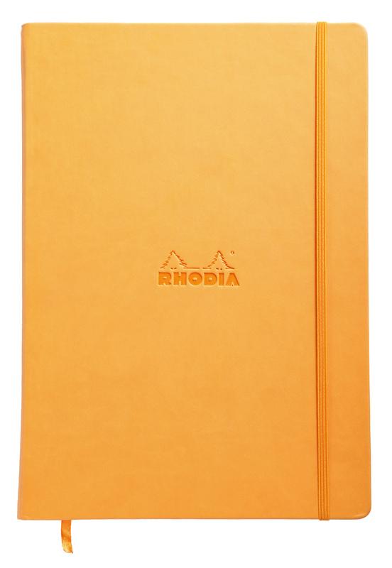 Rhodia Webnotebook A4 Blank (Orange)