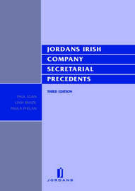 Irish Company Secretarial Precedents by E. Gilvarry image