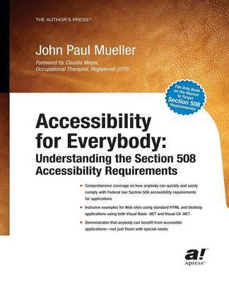 Accessibility for Everybody by John Paul Mueller