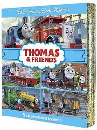 Thomas & Friends Little Golden Book Library by W. Awdry