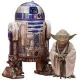 Star Wars: 1/10 Artfx+ Yoda & R2-D2 Dagobah - Figure Set