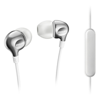 Philips in Ear Headphones With Microphone - White
