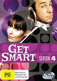 Get Smart (1965) - Season 4 (5 Disc Set) on DVD