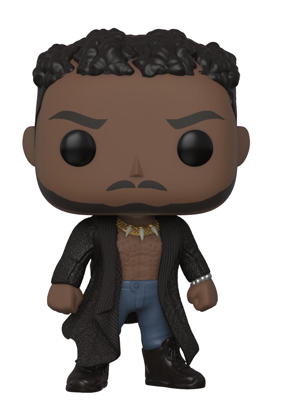Black Panther - Erik Killmonger (With Scars) Pop! Vinyl Figure image