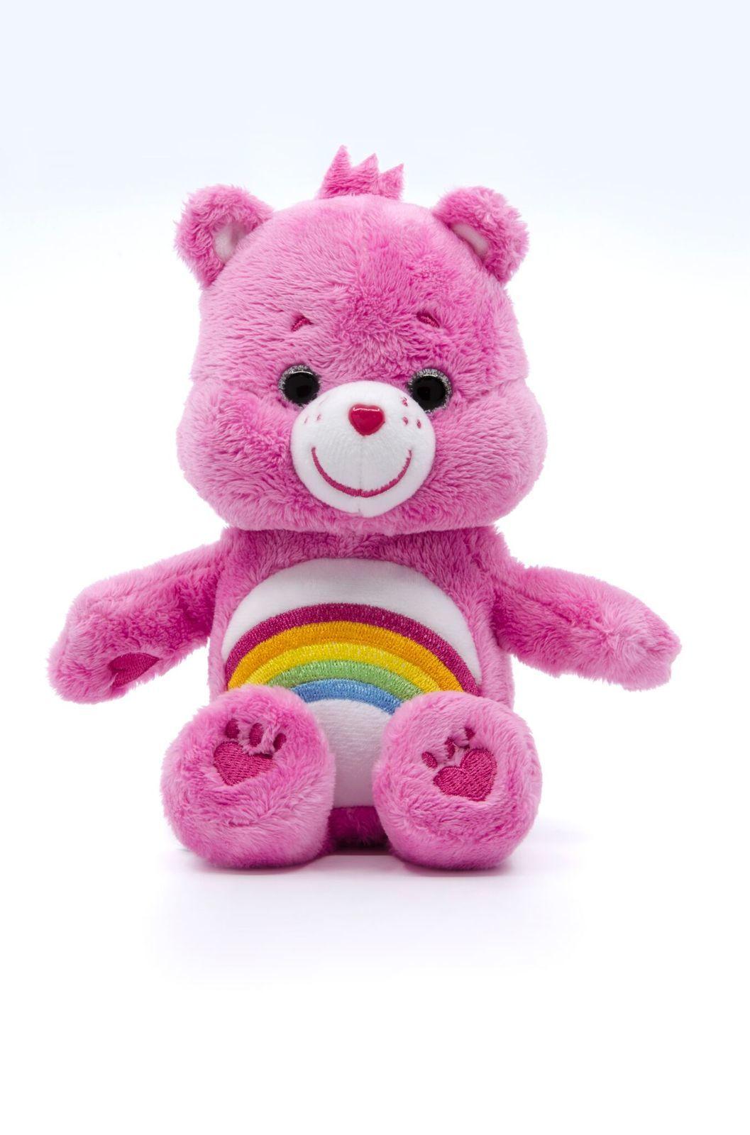 Care Bears: Cheer Bear - Small Beanie Plush image