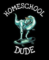 Homeschool Dude by Dinosaur Composition Notebook Co image