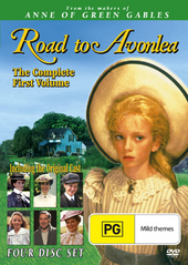 Road To Avonlea: Complete First Series (4 Disc) on DVD