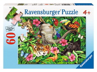 Ravensburger 60 Piece Jigsaw Puzzle - Tropical Friends