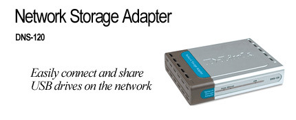 D-Link USB Network Storage Adapter