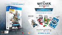 The Witcher 3 - Hearts of Stone Limited Edition for PS4
