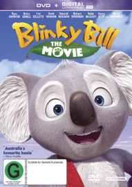 Blinky Bill - The Movie on DVD