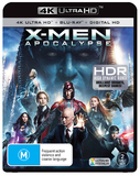 X-Men Apocalypse on Blu-ray, UHD Blu-ray