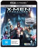 X-Men Apocalypse (4K UHD + Blu-ray) DVD