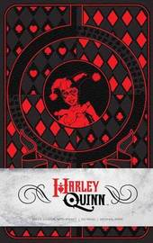 Harley Quinn Hardcover Ruled Journal by Matthew K Manning
