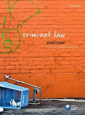 Criminal Law Directions by Nicola Haralambous image