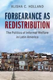 Forbearance as Redistribution by Alisha C. Holland image