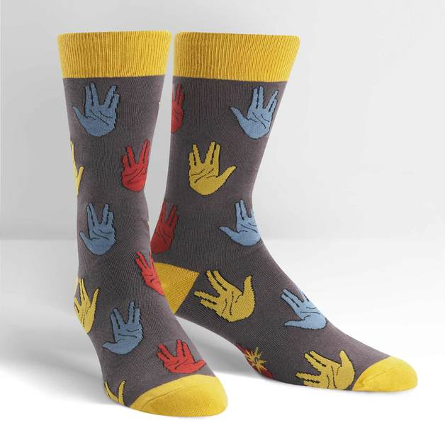 Men's - Salutations Crew Socks
