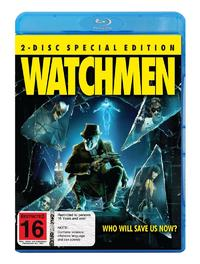 Watchmen Special Edition (2 Disc Set) on Blu-ray