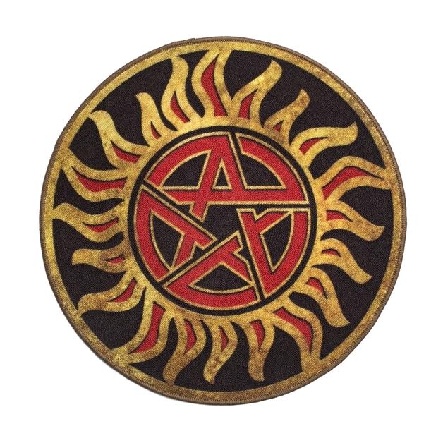 Supernatural Anti Possession Symbol Doormat At Mighty Ape Nz