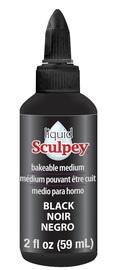 Sculpey: Liquid Bakeable Clay - Black (59ml)