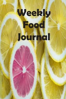 Weekly Food Journal by Twodogsdancing Planners