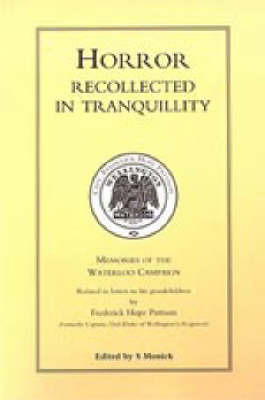 Horror Recollected in Tranquillity by Frederick Hope Pattison image