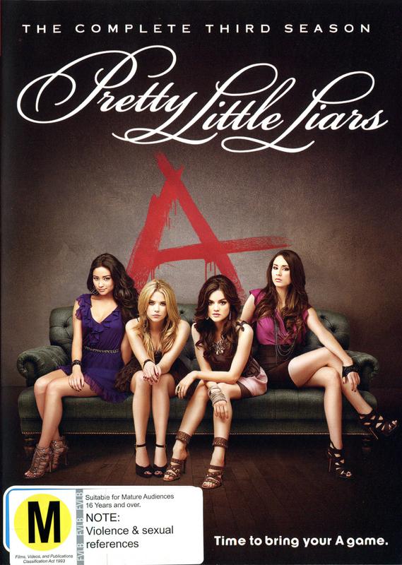 Pretty Little Liars - The Complete Third Season on DVD