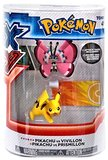 XY Pokémon Figures - 2 Pack - Pikachu vs Vivillon