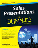 Sales Presentations For Dummies by Julie M. Hansen