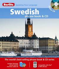 Swedish Berlitz Phrase Book and CD image