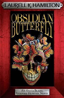 Obsidian Butterfly (Anita Blake #9) (red frame) by Laurell K. Hamilton