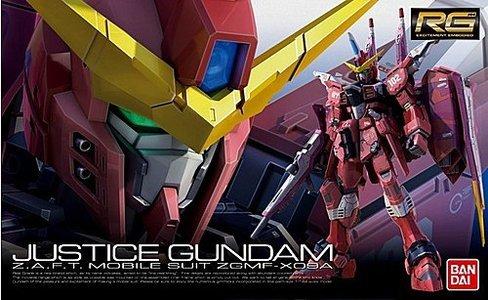 RG 1/144 ZGMF-X09A Justice Gundam - Model Kit