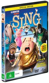 Sing on DVD image