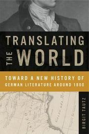 Translating the World by Birgit Tautz image