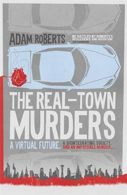 The Real-Town Murders by Adam Roberts image