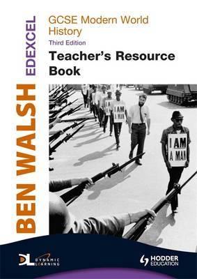 Edexcel GCSE Modern World History Teacher's Book + CD by Ben Walsh image