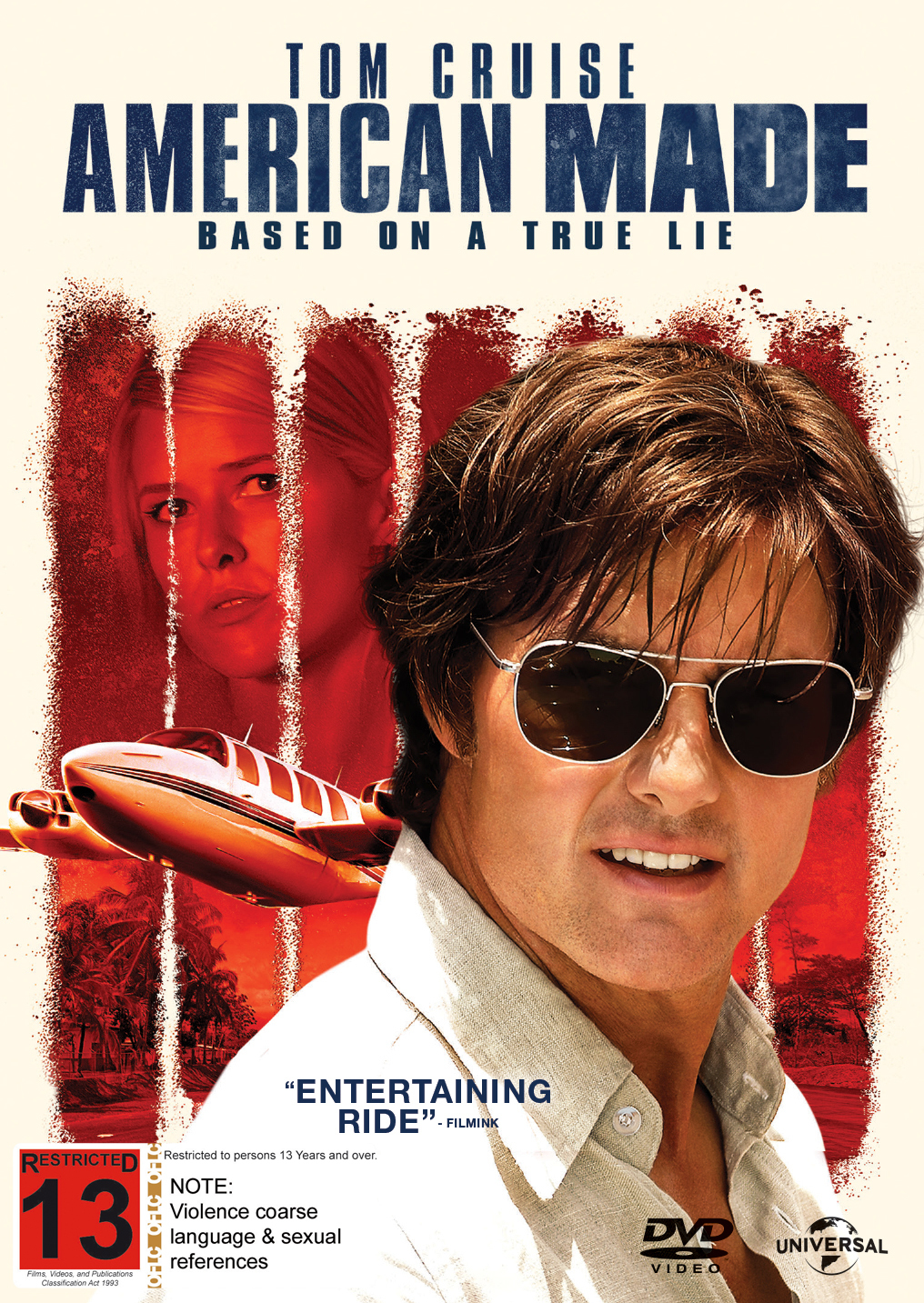 American Made on DVD image