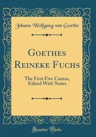 Goethes Reineke Fuchs by Johann Wolfgang von Goethe image