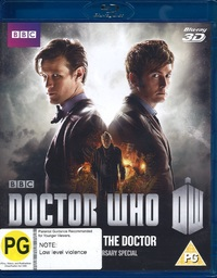 Doctor Who: The Day of the Doctor on Blu-ray