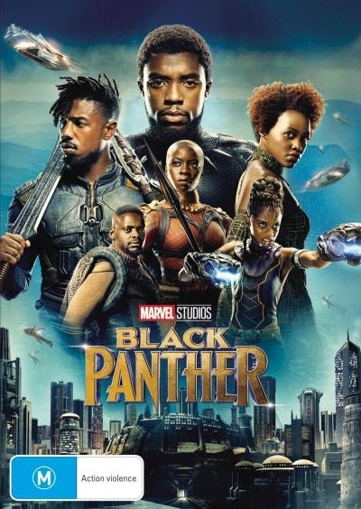 Black Panther on DVD image