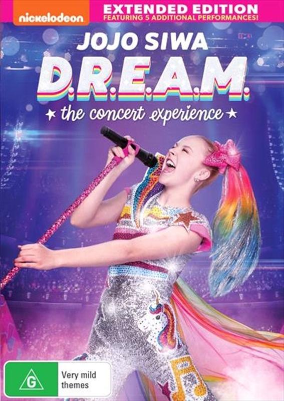 Jojo Siwa: D.R.E.A.M - The Concert Experience on DVD