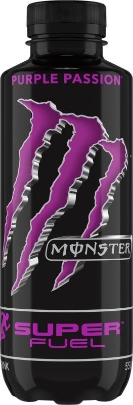 Monster Super Fuel Purple Passion 550ml (12 Pack)